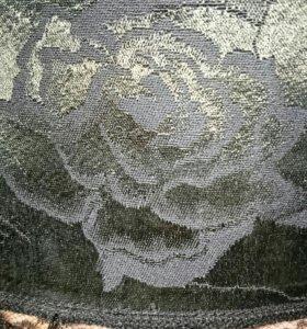 Юбка вискоза с кружевом р.44-46