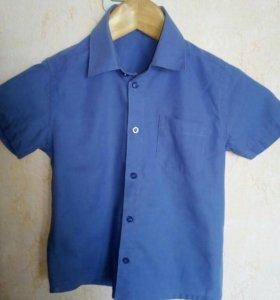 Нарядная рубашка 110-116