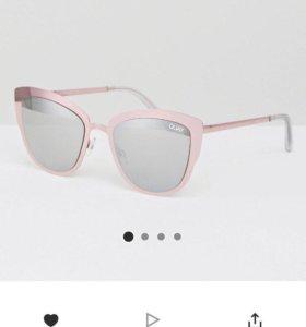 Солнечные очки зеркальные Quay