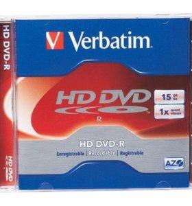 Диски HD-DVD Verbatim. Запечатанные