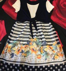 Платье для кормления и беременности р 44-46