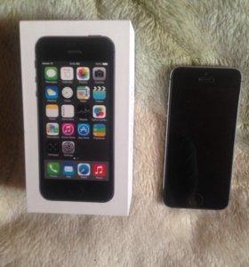 iPhone 5s 16 gb silver grey