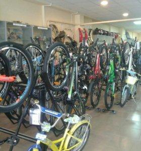 Огромный выбор велосипедов для всей семьи