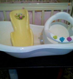 Ванна+горка+седение