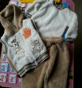 Махровый комплект для малыша.