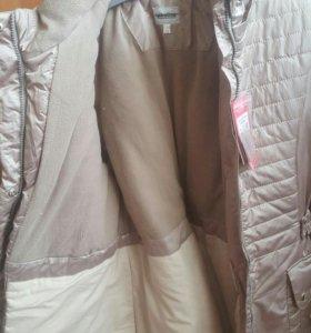 Теплая зимняя куртка-пальто