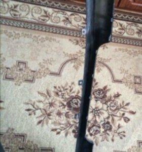 Задняя юбка мазда 3 хечбэк