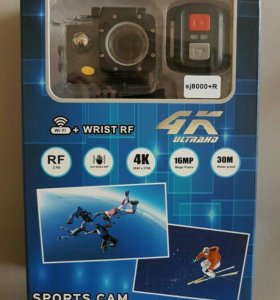 Go-pro экшн-камера 4K SJ8000+R с пультом wifi