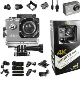 Go-pro экшн-камера 4k-UHD Xpx