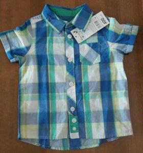 Рубашка новая р.80