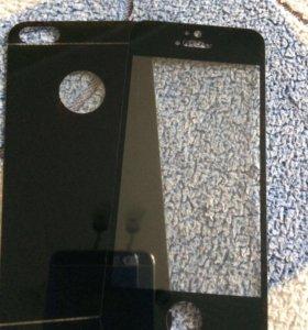 Защитное стекло на айфон 5-5s-5se