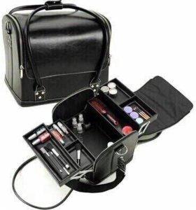 Сумка-чемодан для маникюрных принадлежностей