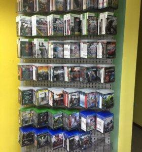 Диски PS3, XBOX 360,PS4,XBOXONE,PSP