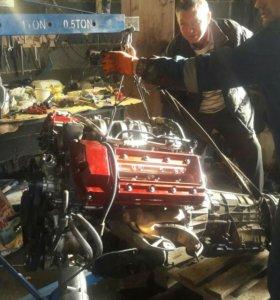 Двигатель м62