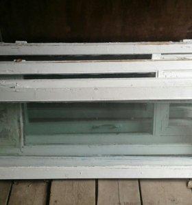 Б/у окна , двери