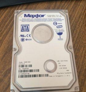 Жёсткий диск maxtron 160gb