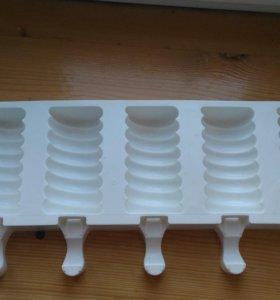 Силиконовая форма для мыла -мороженое