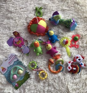 Детские игрушки +погремушки
