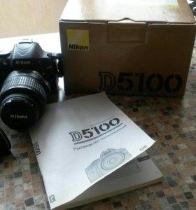 Цифровая зеркальная фотокамера Никон Д5100