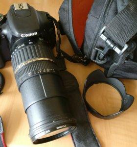 Canon 600 d + Tamron 18-200