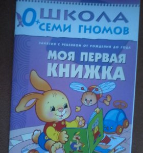 Школа гномов 0+ и 1+ весь курс 12 книг