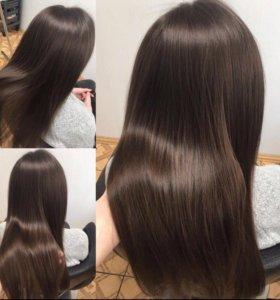 Ботокс для волос. Кератиновое выпрямление