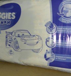 Подгузники-трусики huggies закрытая упаковка