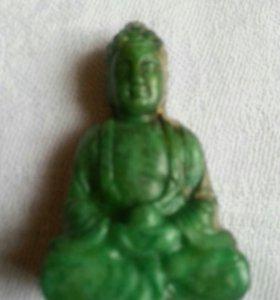 Антиквариат начала 19 в. Будда.