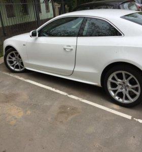 Диски Audi r18 с летней резиной