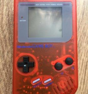Game Boy DMG-01 с подсветкой