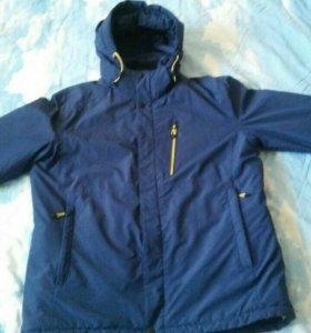 Мужская зимняя куртка. Холлофайбер 4.