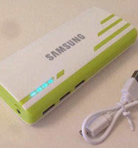 Power bank аккумулятор Samsung 30000 mAh Green