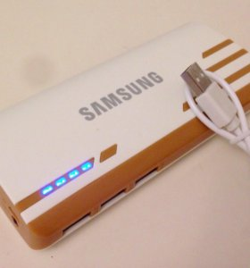 Power bank Samsung 30000 mAh brown
