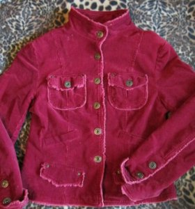 Винтажная вельветовая куртка