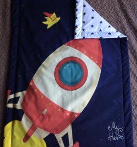 Детское одеяло + наволочка