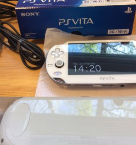 Ps Vita Fat 1106 WiFi / 3G Crystal White 8 Гбайт
