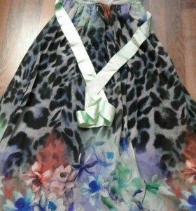 Летним платье в пол новые