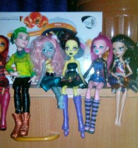 Куклы монстр хай 1 кукла 1000