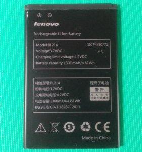 Аккумуляторная батарея Lenovo BL214