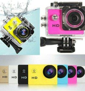 Go-pro экшн-камера Sports HD DV 1080p