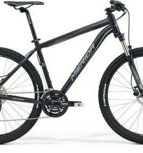 Велосипед Merida Big Seven 40D Matt Black/Grey (20