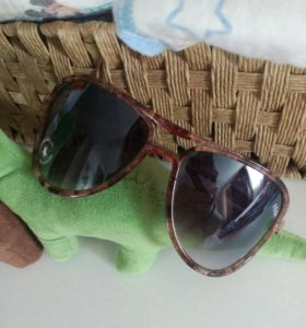 Новые очки от солнышка