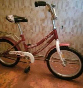 Велосипед красный