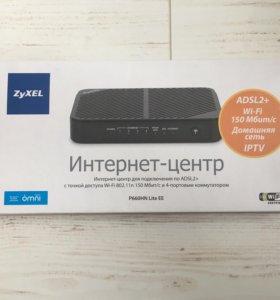 Интернет-центр ZyXEL P660HN Lite EE
