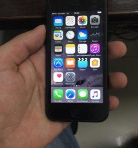 Айфон 5 64 Gb Black в корпусе семёрки