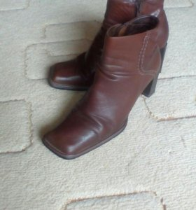 Ботинки кожаные 36-37
