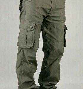 Мужские брюки карго.