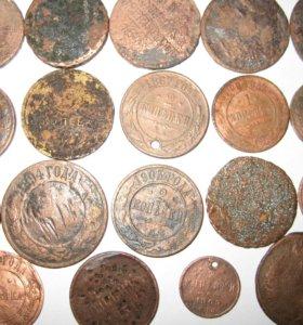 Монеты царской России 19 штук
