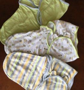 Одеяльца - конверты для пеленания
