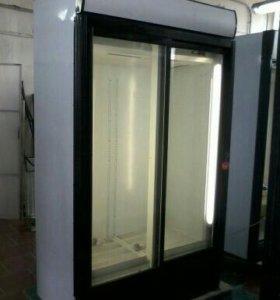 Двухдверный холодильный шкаф Интер 950